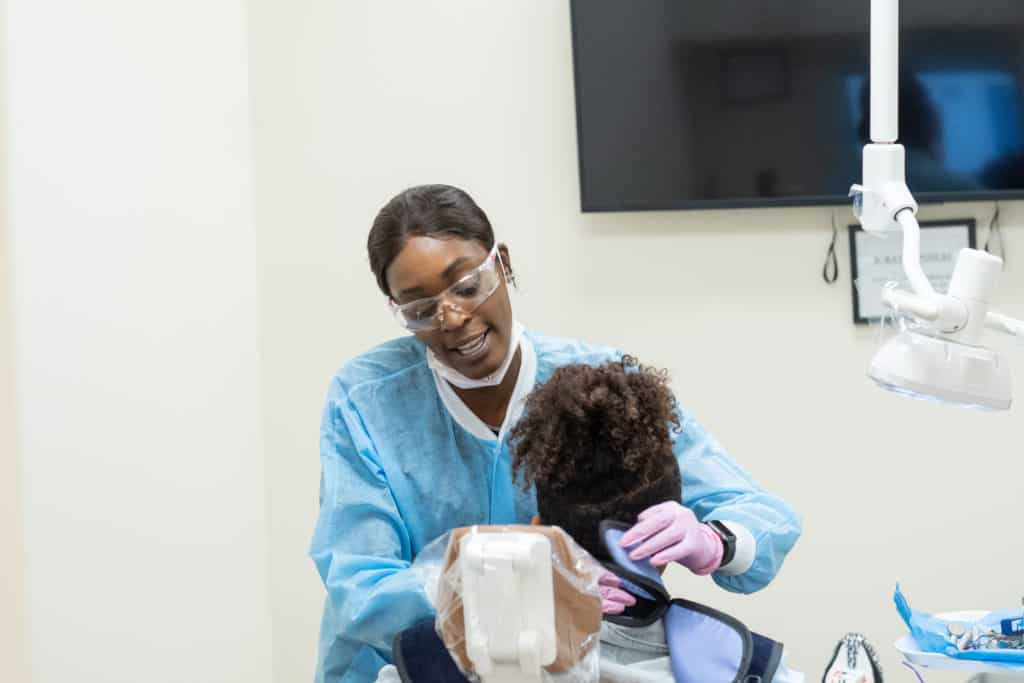 Patients Capitol Dental Associates Washington D.C. 2018 74 1024x683 - What Happens During a Teeth Cleaning?